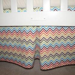 Bermuda Baby Crib Skirt