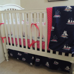 Nautical Sail Away Baby Bedding Set