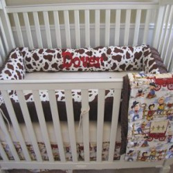 The Cowboy Baby Bedding Set