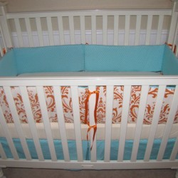 Damask Dream Baby Bedding Set