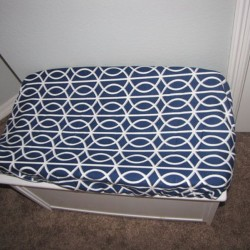Dwell Navy Changing Pad Cover