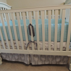 Gray Nature Baby Bedding Set